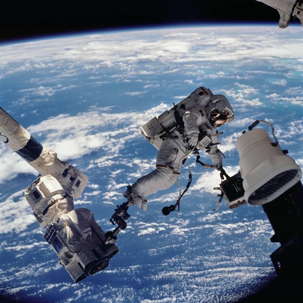 Spacewalk International Space Station