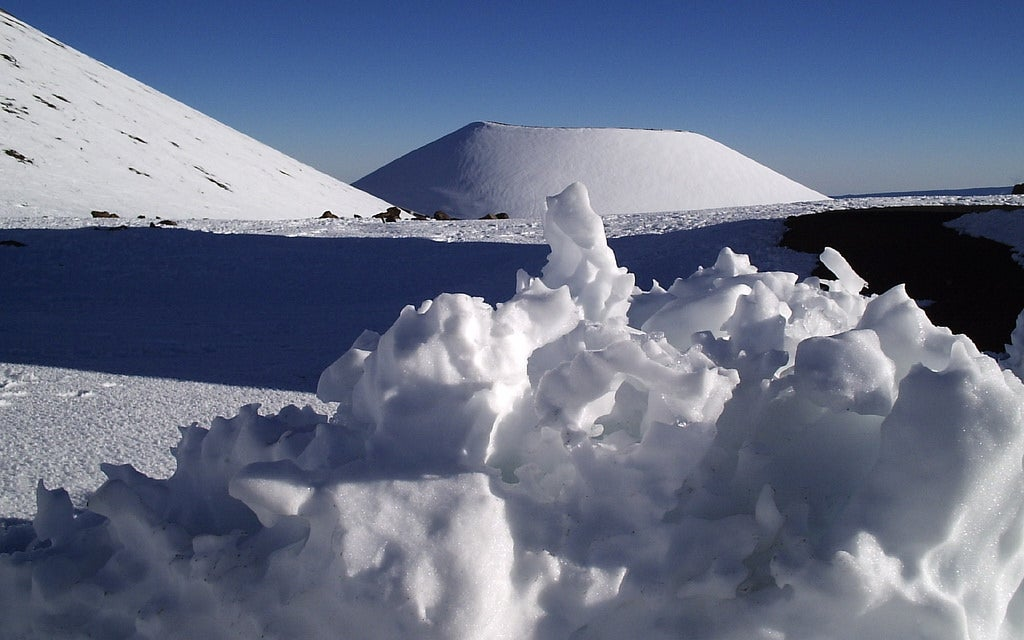 Hawaii snow