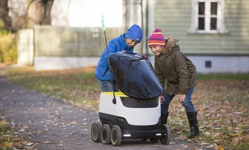 Robotic food delivery is rolling into the United States in February