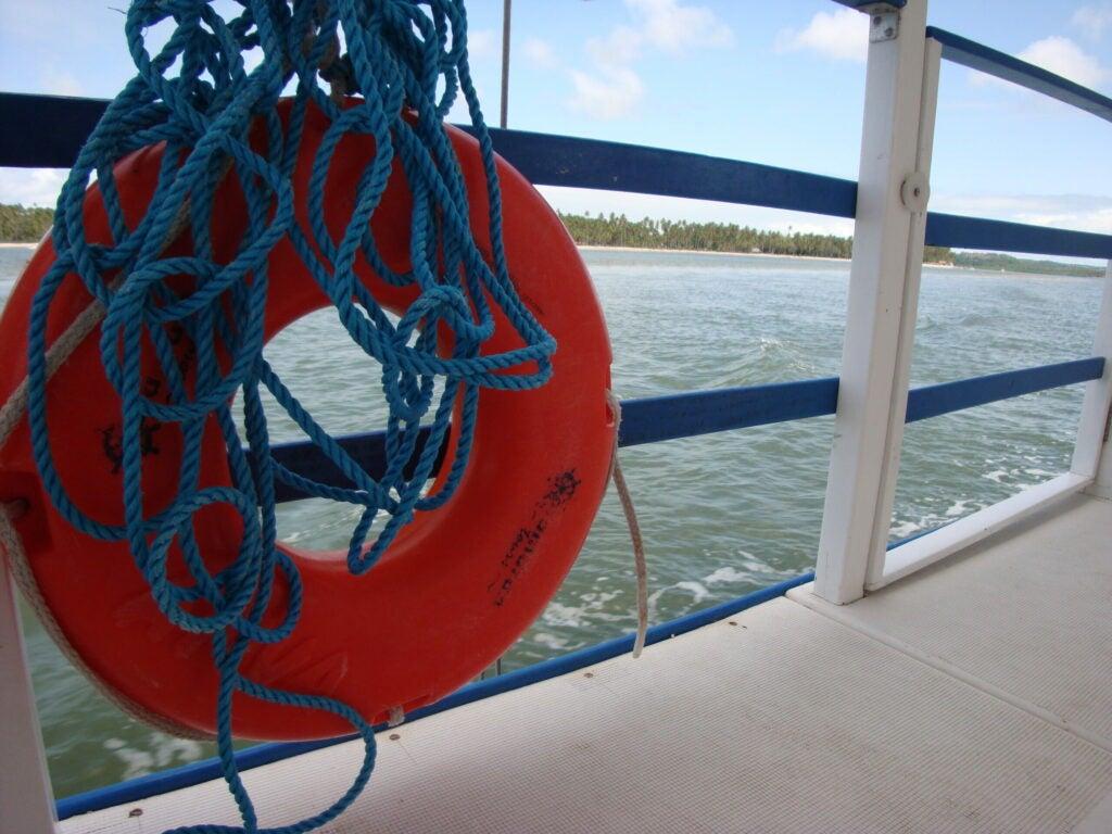 ship life ring