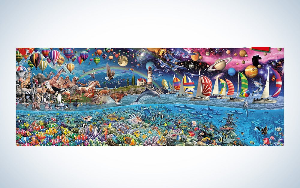 The Greatest 24,000-Piece Puzzle