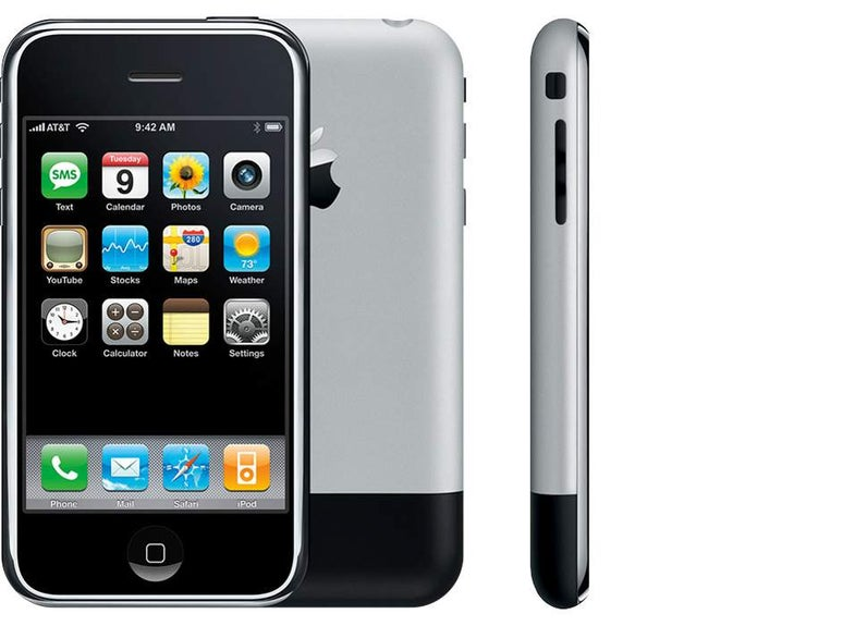The first iPhone model