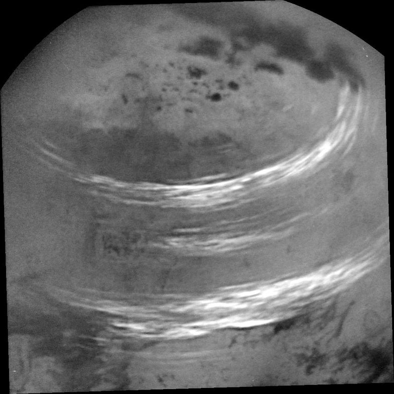 Titan summer clouds