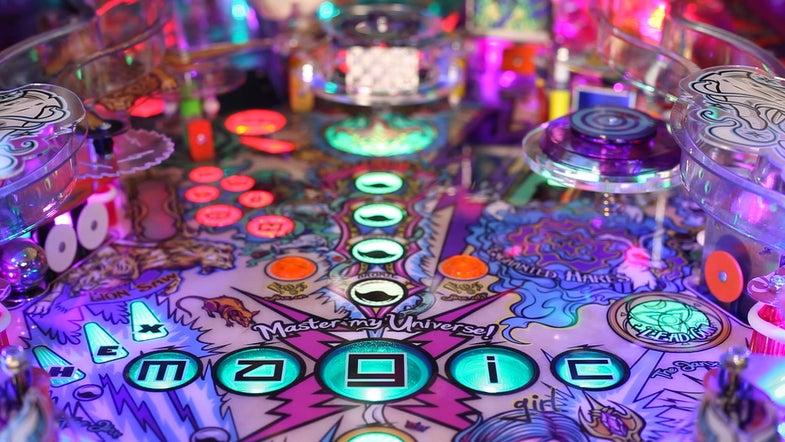 Magic Girl Pinball Machine