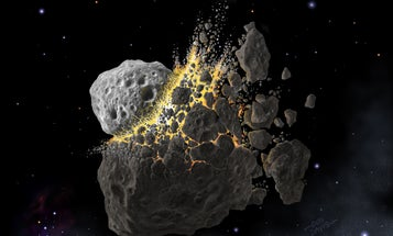 Today's rarest space rocks were once common clods