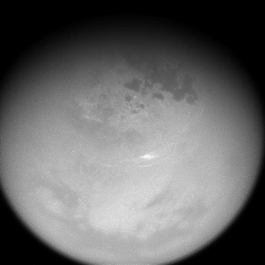 Send in the clouds Titan