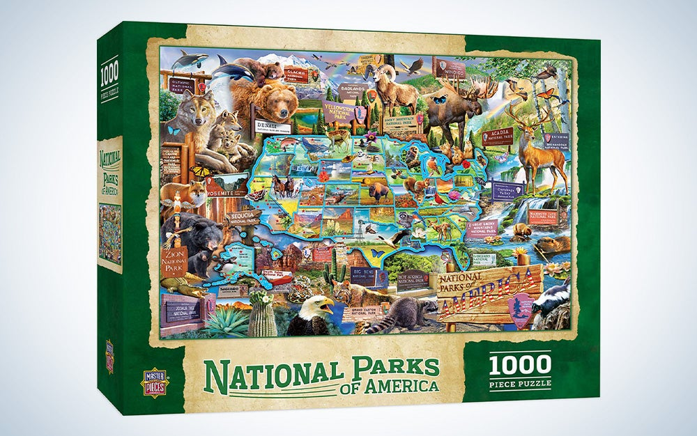 National Parks of America MasterPieces