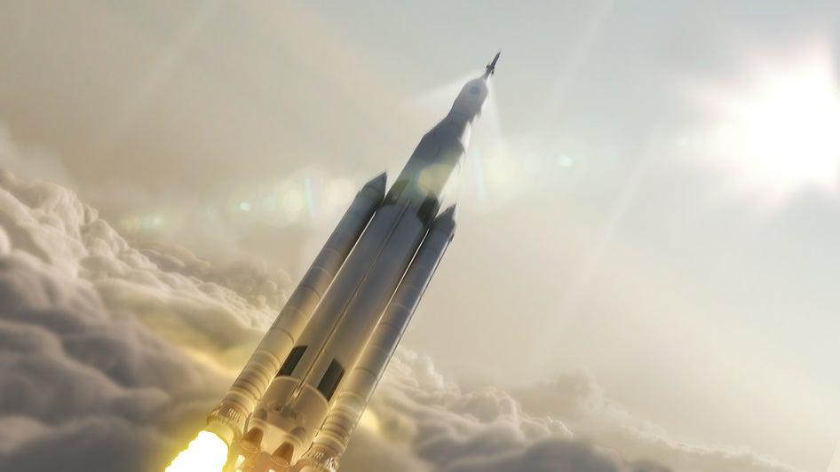 It's official: NASA's new heavy lift rocket won't launch until 2019