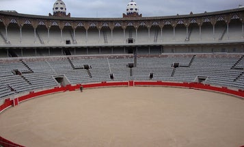 Here's a plan to turn bullfighting arenas into drone hubs