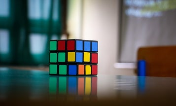 Check out the world's biggest freestanding Rubik's cube