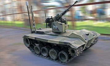 Russian special forces may get a robot tanklet