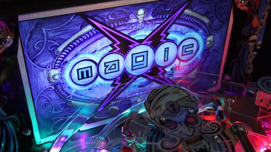 Magic Girl LCD screen