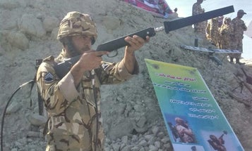 Iran revealed an anti-drone rifle