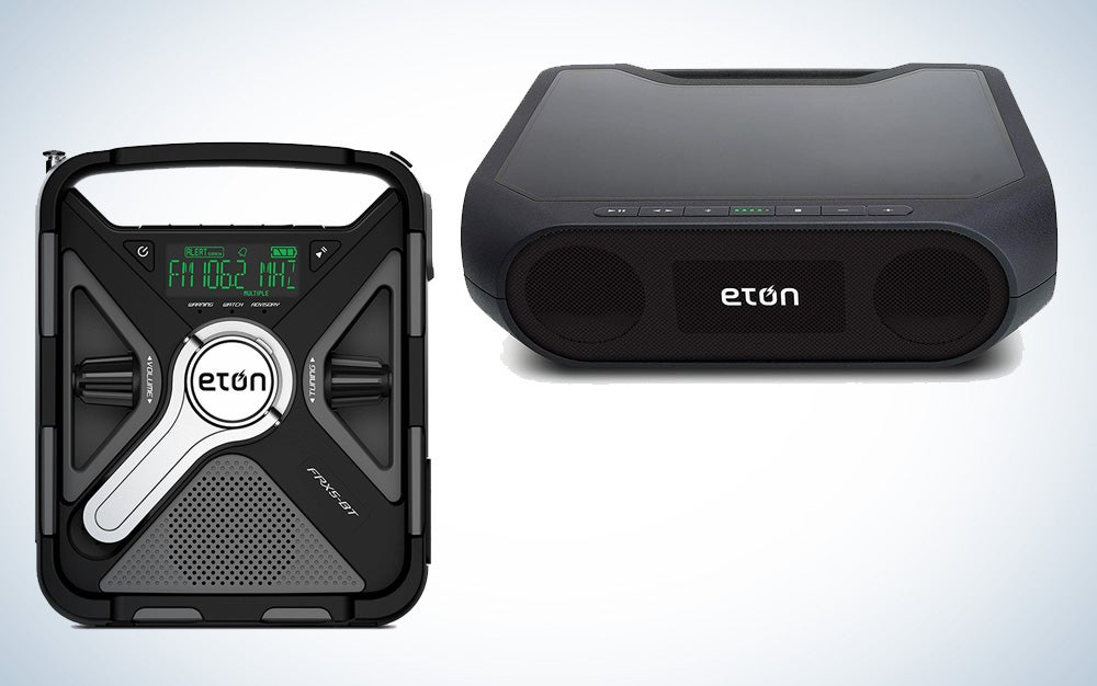 Eton Emergency weather radio and Bluetooth speaker