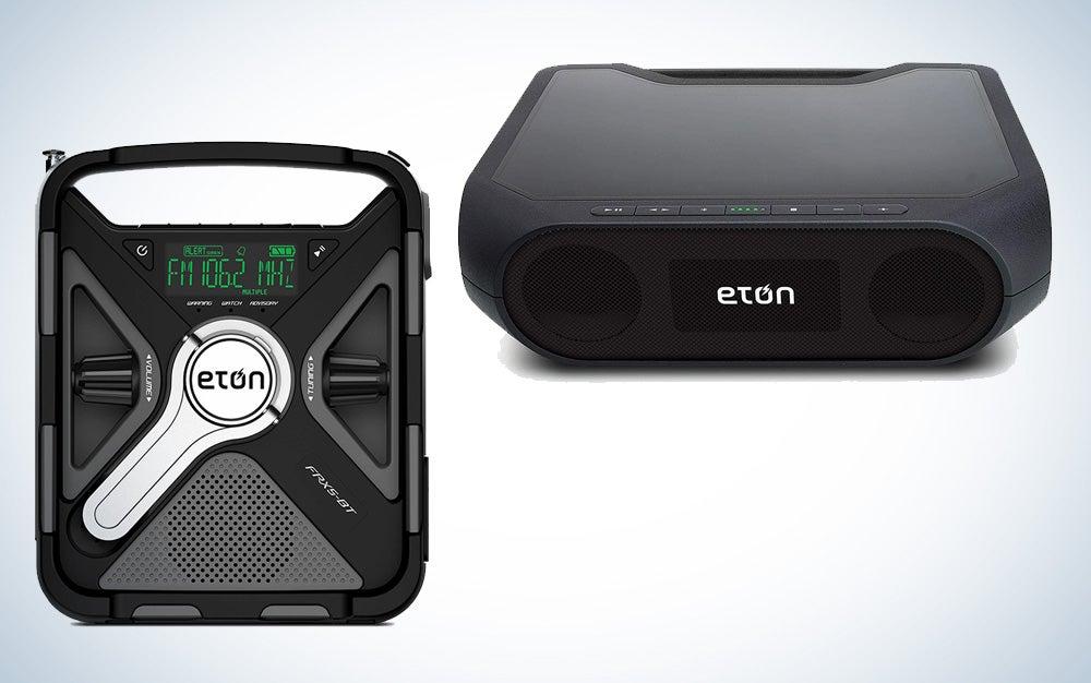 Eton Emergency weather radio and Bluetooth speaker