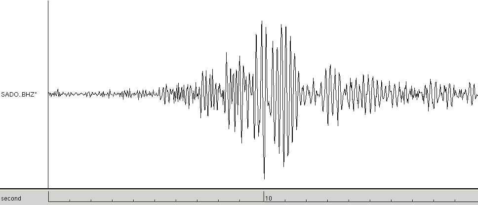 seismograph frost quake