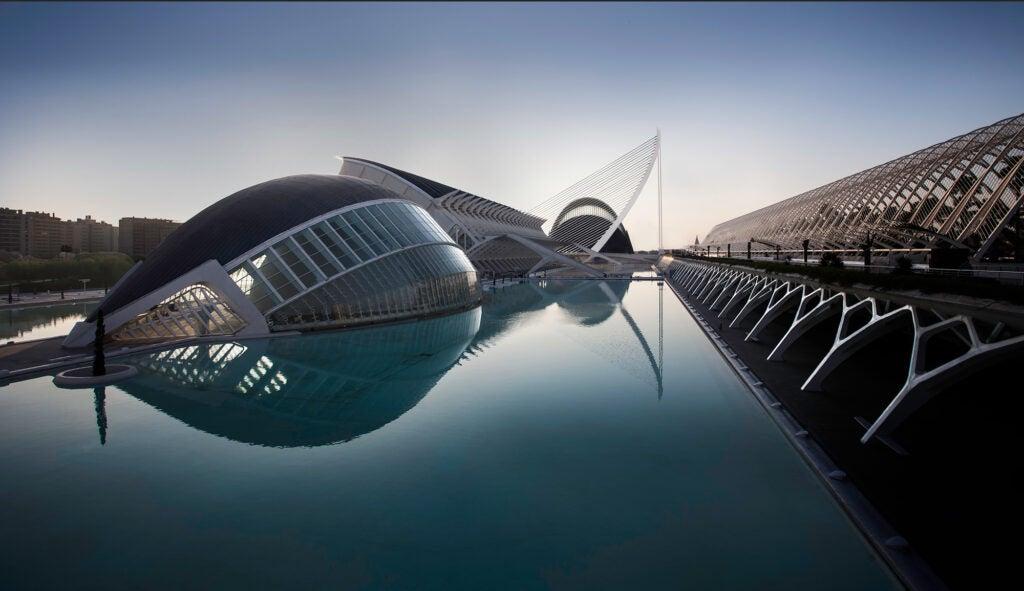 City of Arts and Sciences building, Valencia