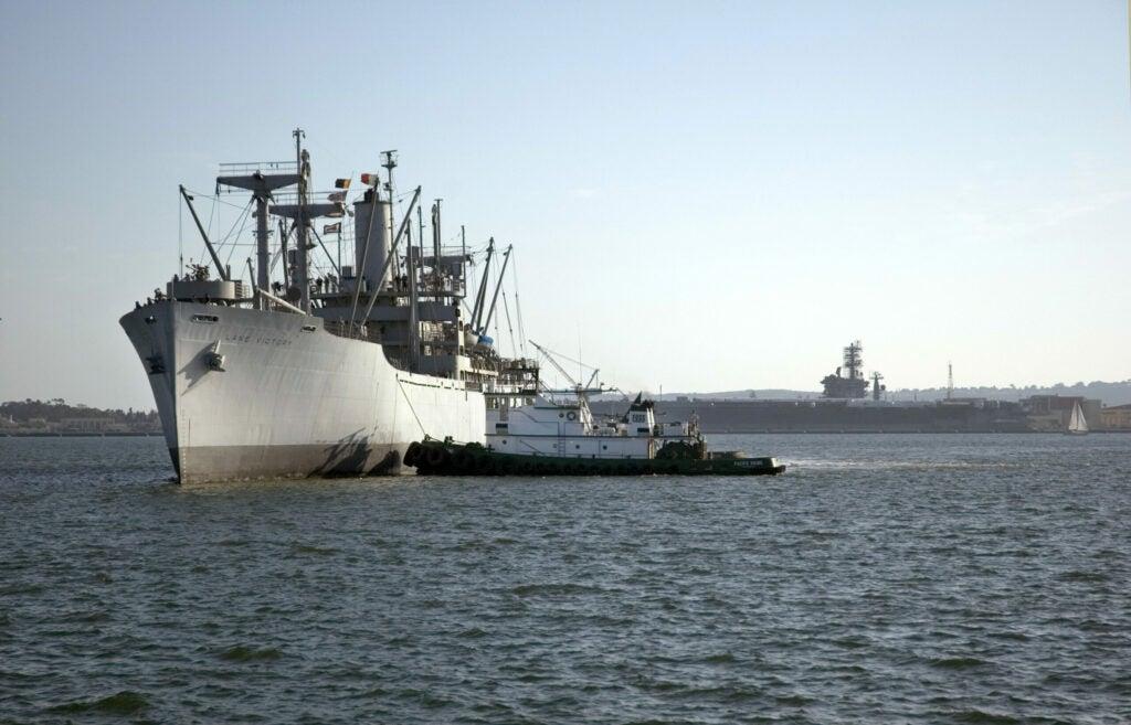 A World War II ship