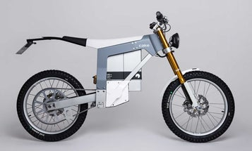 This street-legal electric motorcycle is Swedish minimalism on two wheels