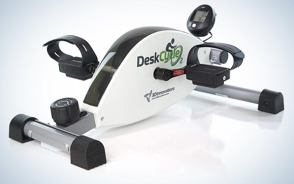 DeskCycle under the desk elliptical