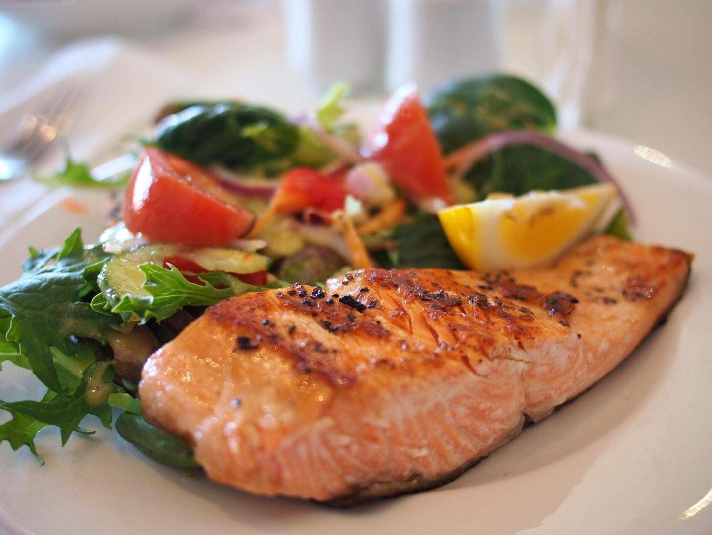 salmon healthy food