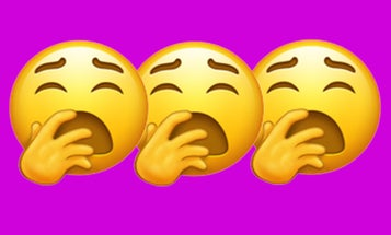 One of the new 2019 Emojis might make you physically yawn