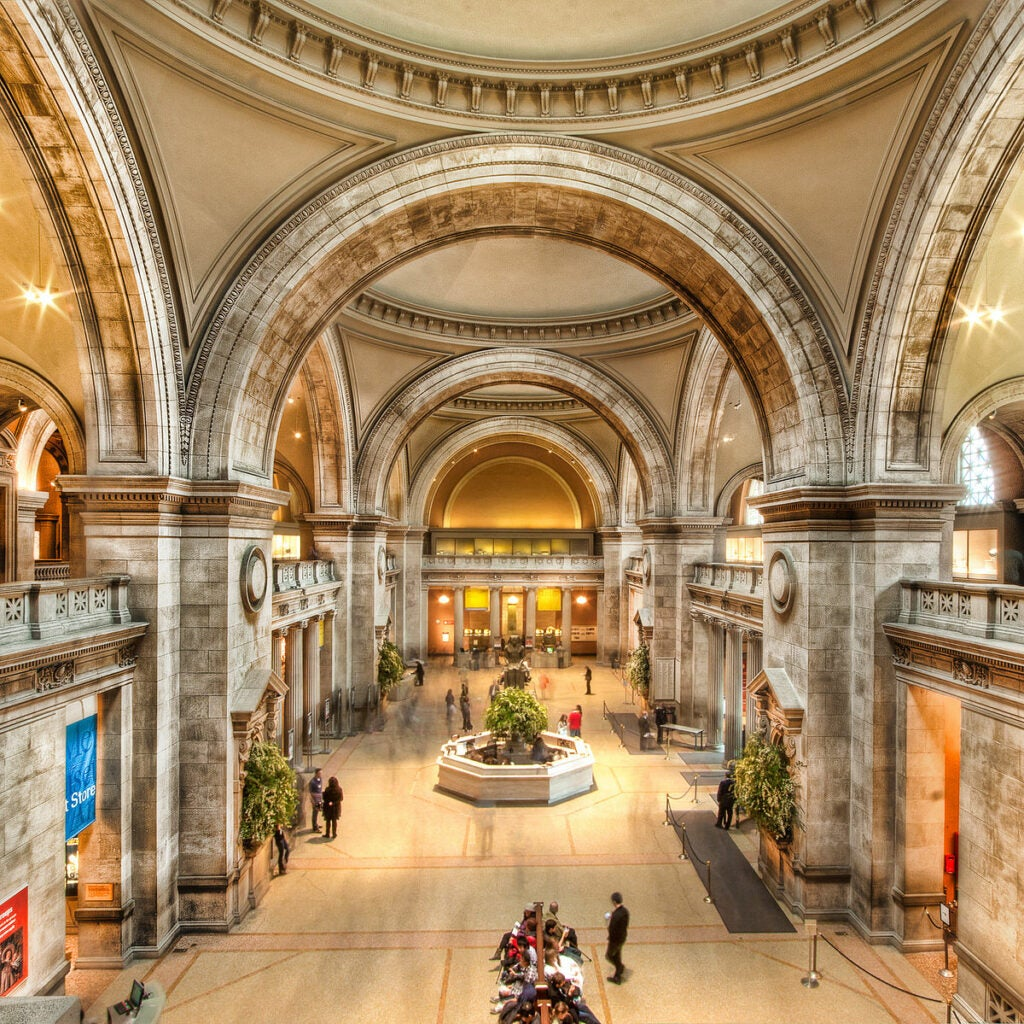 The Metropolitan Museum of Art HVAC wintertime dryness