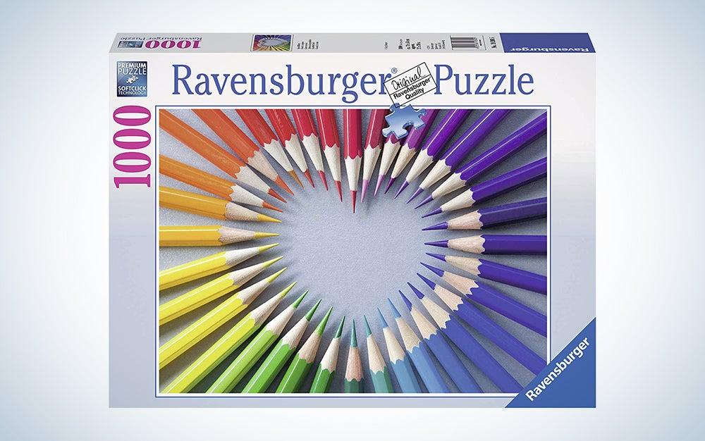 Ravensburger heart puzzle