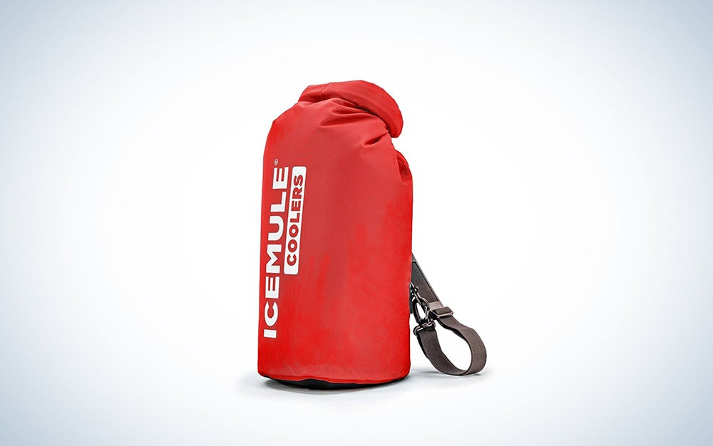 IceMule insulated cooler backpack