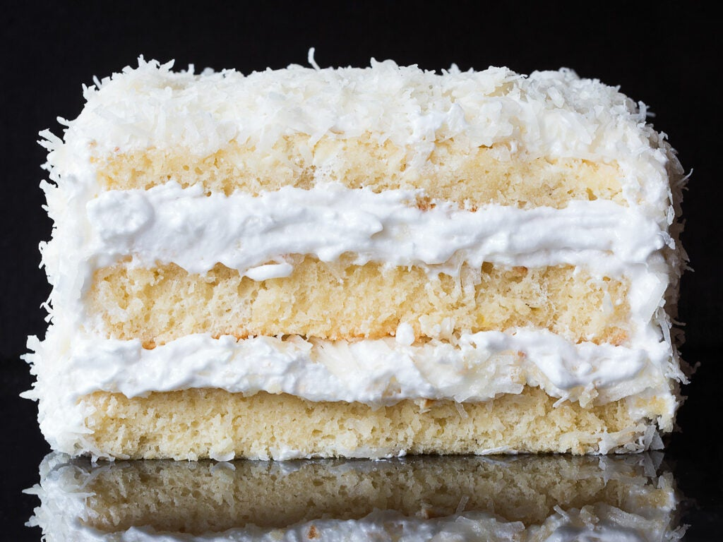 Thomas Kellers Coconut Cake