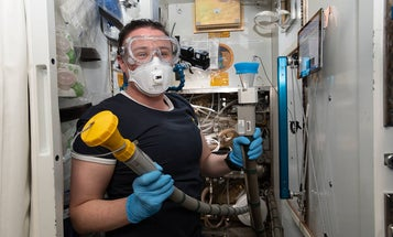 A leaky toilet on the International Space Station is about as fun as it sounds