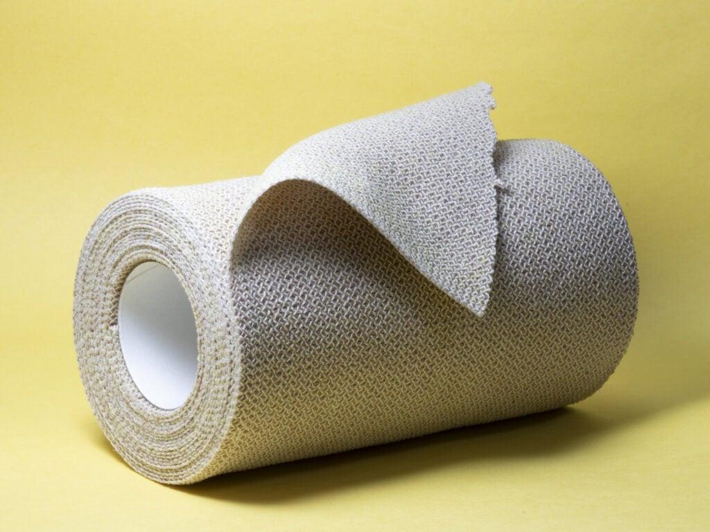 roll of gauze