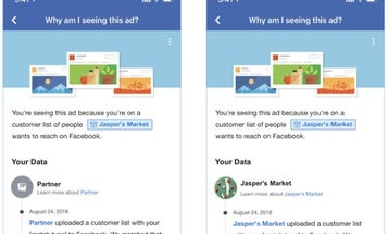 Facebook will soon tell you more info about how it's targeting you with ads