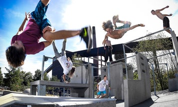 The hardcore science of parkour