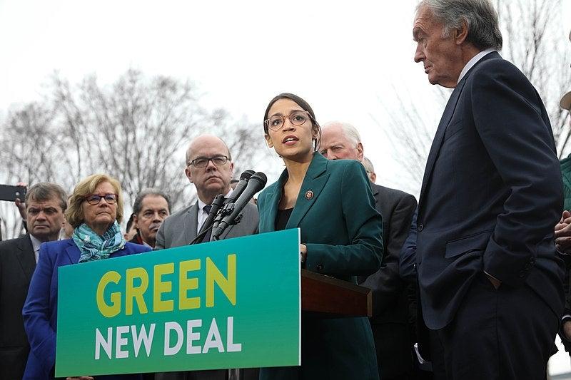 Green New Deal explainer Alexandria Ocasio-Cortez