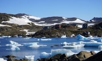 Greenland's melting glaciers are unearthing a hidden economic goldmine