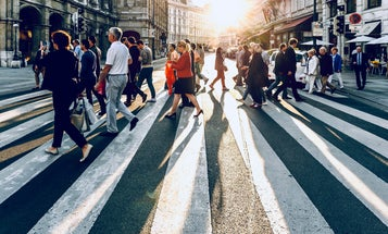 How self-driving cars can predict the way pedestrians move