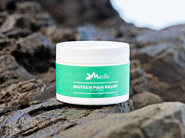 Medix CBD Topical Pain Relief Cream