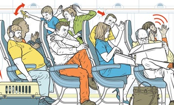 Why bigger planes mean cramped quarters
