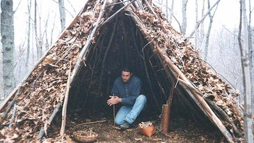 wickiup survival shelter