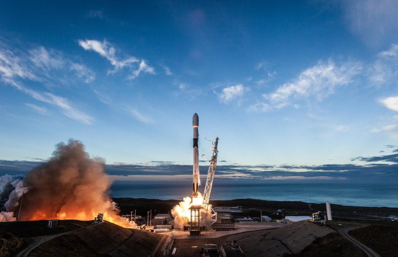 spacex iridium 8 launch