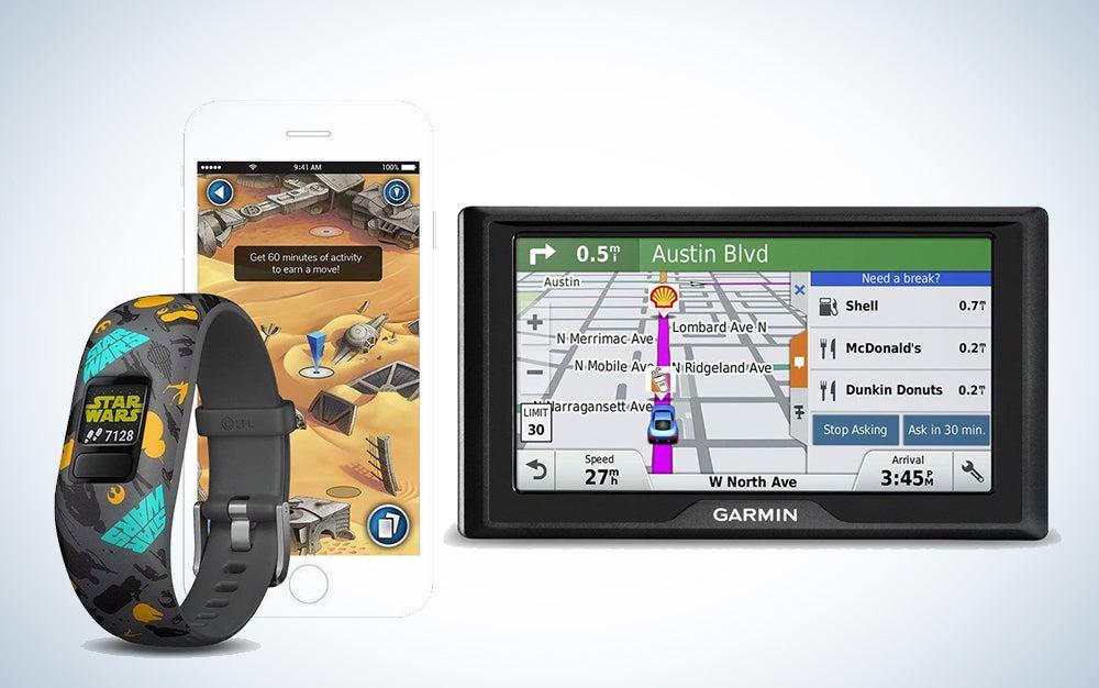Garmin GPS and kid's smart watch