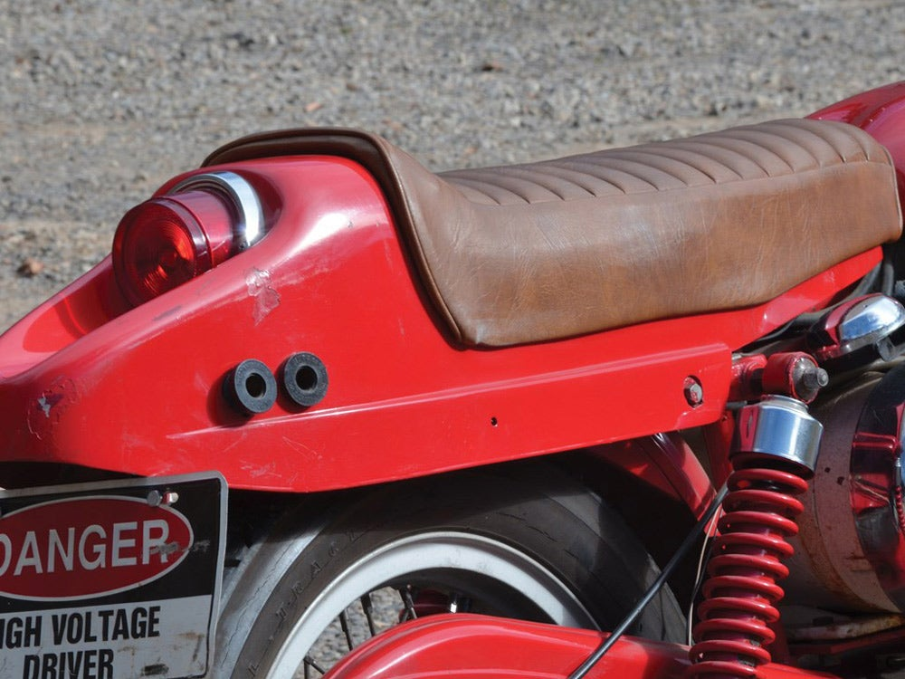 boattail seat from a Sportster