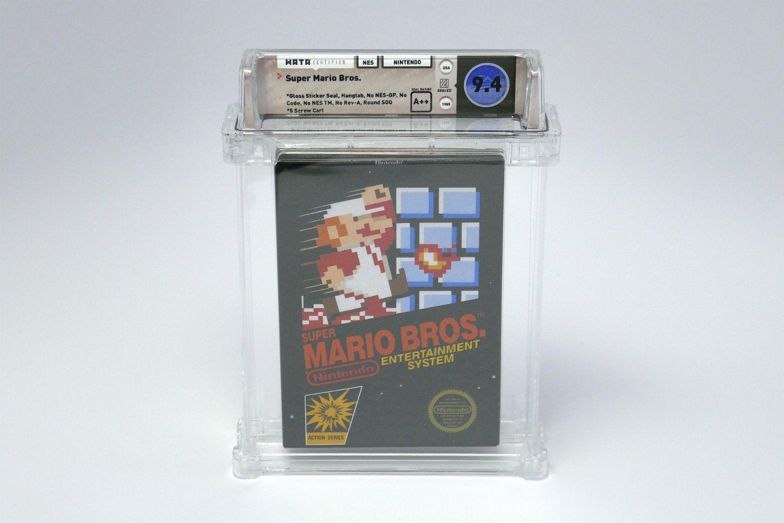 Super Mario Cartridge