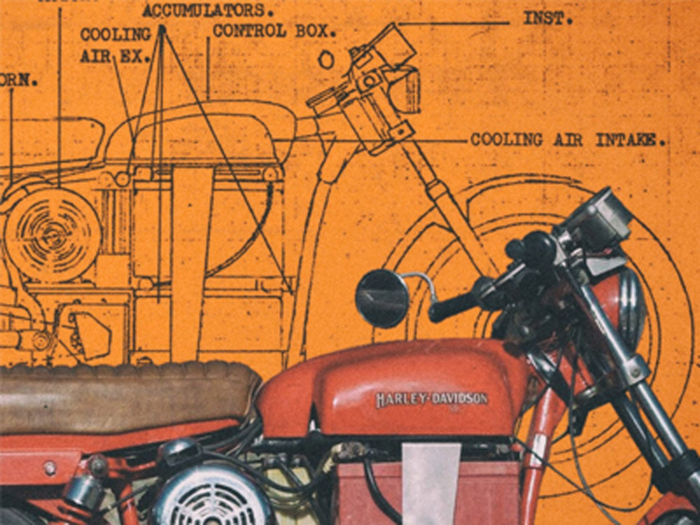 1978 electric harley-davidson