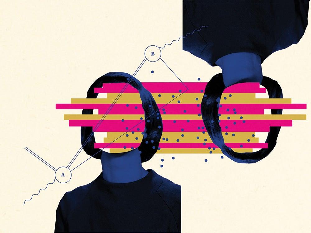 quantum teleportation illustration