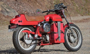 Someone built an electric Harley-Davidson motorcycle in 1978