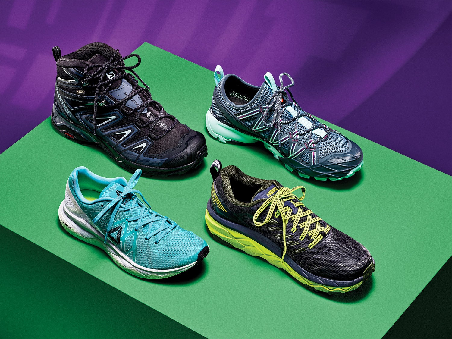 Shoes made for rocky trails, wet beaches, and other tough terrain