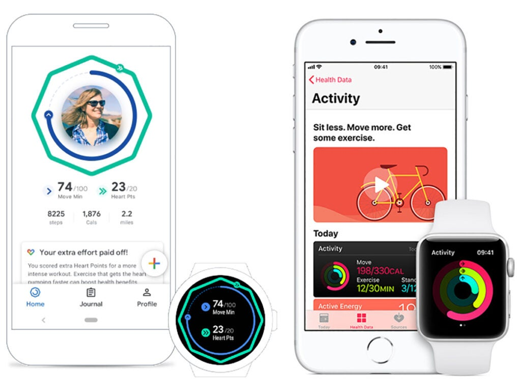 Google Fit and Apple Health