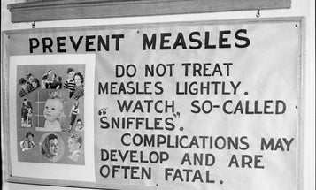 The U.S. came within a needle's width of losing its measles elimination status